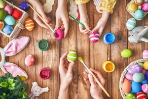 Force cheers up refuge children at Easter