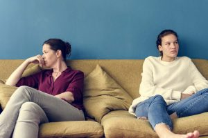 Stressed children, a consequence of domestic abuse